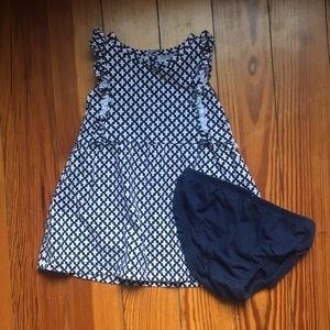 Other - Carter's navy and coral dress
